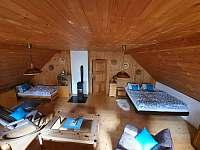 Modrá ložnice - chalupa k pronajmutí Nekoř - Údolí