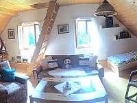 Modrá ložnice - chalupa ubytování Nekoř - Údolí