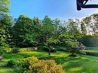 Zahrada - chalupa ubytování Nekoř - Údolí