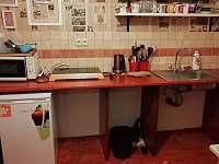 Kuchyňka - pronájem chalupy Králíky - Prostřední Lipka