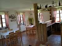 Společenská místnost - pronájem chalupy Králíky - Prostřední Lipka
