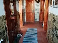 Ubytování Lipka- vstupní chodba - chalupa ubytování Králíky - Prostřední Lipka