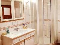 koupelna - chalupa k pronajmutí Valteřice