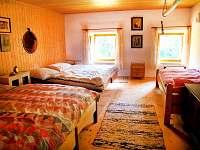 ložnice - chalupa k pronájmu Valteřice