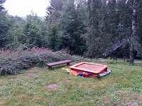 Pískoviště pro děti - chata k pronájmu Bartošovice v Orlických horách