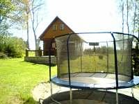 Venkovní trampolína - Bartošovice v Orlických horách