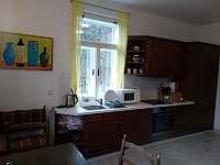 Vybavená kuchyně - vila k pronajmutí Mladkov