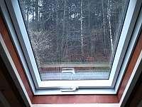 Výhled z okna - vila k pronájmu Mladkov