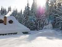 Chalupa ŠKOLA v zimě 2 - ubytování Zdobnice
