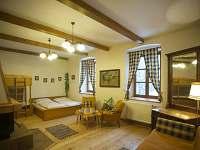 Pokoj 1 přízemí - chalupa ubytování Zdobnice