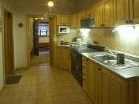 Vchod kuchyň - chalupa ubytování Zdobnice