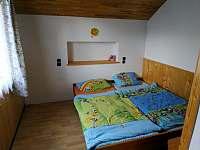 Ložnice 1, první patro, možnost přistýlky - molitanová matrace na zemi - chata k pronajmutí Pastviny