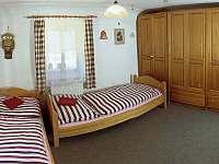 Dvoulůžkový pokoj vedle společenské místnosti I. - Červená Voda - Šanov