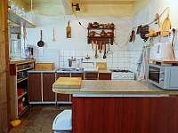 Kuchyň - chalupa ubytování Červená Voda - Šanov