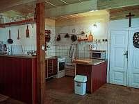Kuchyň - chalupa k pronajmutí Červená Voda - Šanov