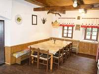 kuchyně - společenská místnost - Orlické Záhoří
