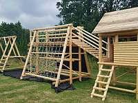 Dětské hřiště - chata k pronajmutí Heroltice u Štítů