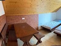 doplňkový (nouzový) pokoj v 1. patře - Deštné v Orlických horách