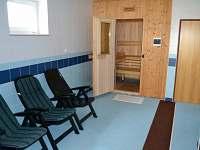 Sauna s odpočívárnou