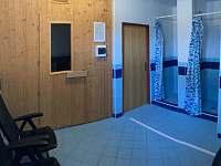 sauna vč. sprch - Deštné v Orlických horách