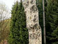 horolezecká stěna - chata k pronájmu Deštné v Orlických horách