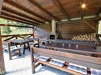 Pergola - chata ubytování Deštné v Orlických horách