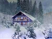 ubytování Lyžařský vlek Kačenčina sjezdovka - Olešnice v O.h. na chatě k pronajmutí - Deštné v Orlických horách