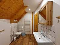 Koupelna - pronájem chalupy Orlické Záhoří