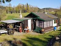 Chata k pronajmutí - okolí Písečné