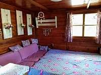 Ložnice - chata k pronajmutí Pastviny