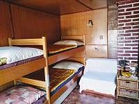 Ložnice č.2 - chata ubytování Pastviny