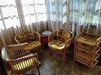 Veranda - chata ubytování Pastviny