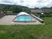 bazén - chalupa k pronajmutí Jamné nad Orlicí