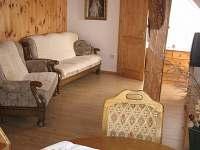Kuchyně s jídelnou a obývací pokoj - Jamné nad Orlicí