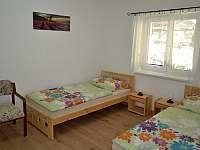 dvoulůžkový pokoj v přízemí