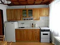 Kuchyňská linka - chalupa ubytování Čunín