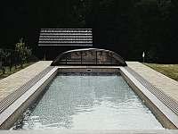 Slaný bazén - ubytování Závada