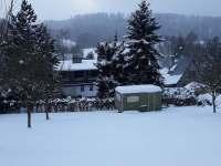 Zima 2021 - chata k pronájmu Kružberk