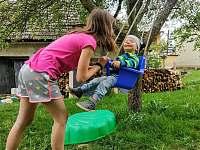 Zahrada - pronájem rekreačního domu Týn nad Bečvou