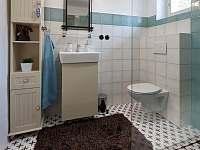 Koupelna - chalupa k pronájmu Spálov