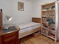 Pokojík- postel pro jednoho - pronájem chalupy Spálov
