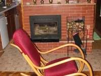 Obývací pokoj - pronájem chaty Přerov - Penčice
