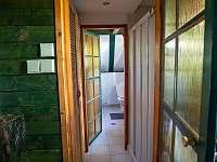 Chata Liduška - Vstup do koupelny - Zlaté Hory