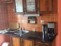 Kuchyně - chalupa ubytování Týn nad Bečvou