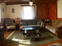 Obývací pokoj - chalupa ubytování Týn nad Bečvou
