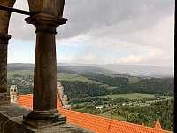 Doly 4, jak je vidět z hradu - Bouzov - Doly