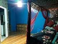líbánky ložnice - chalupa k pronájmu Bouzov - Doly