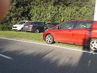 parking - chalupa k pronajmutí Bouzov - Doly