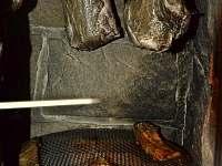 Udírna - vepřová krkovice a kapr na roštu