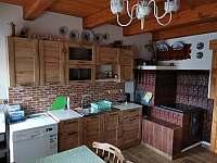 Kuchyň v přízemí. - Hačky